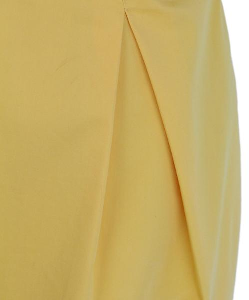 Moschino yellow bow detail dress 6
