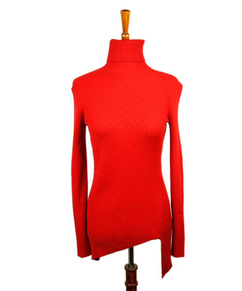 Balenciaga Red Wool Sweater Sz 4