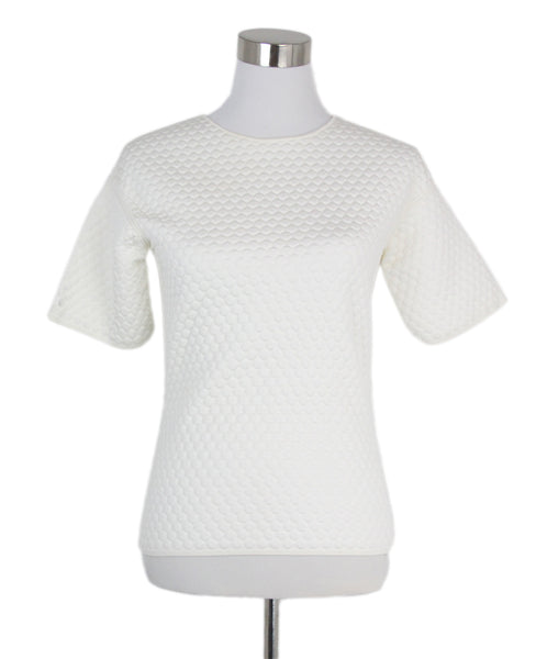 Balenciaga White Cotton Top 1