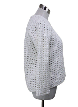 Balenciaga White Knit Sweater sz 2