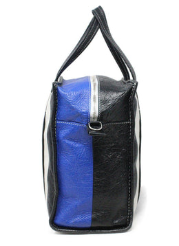 Tote Balenciaga Black Blue White Pink Yellow Leather W/Dust Bag W/Strap Handbag