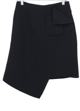 Balenciaga Black Wool Skirt Sz 2