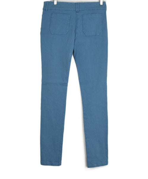 Balenciaga Robbins Egg Blue Denim Pants 2