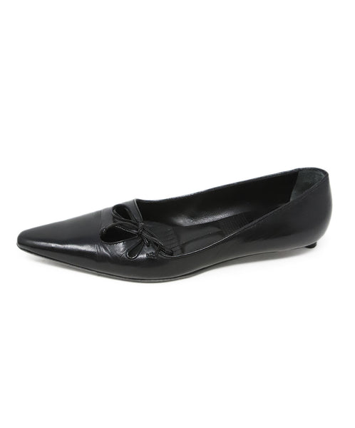 Bally Black Leather Heels 2