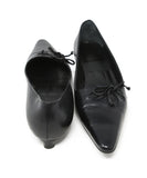 Bally Black Leather Heels 3