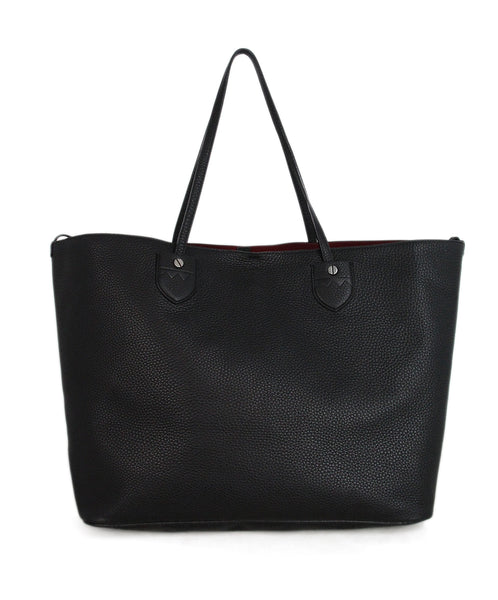 Bally Black Leather Tote 1