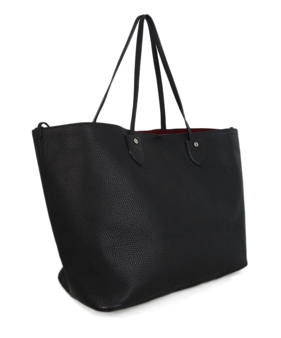 Bally Black Leather Tote 2