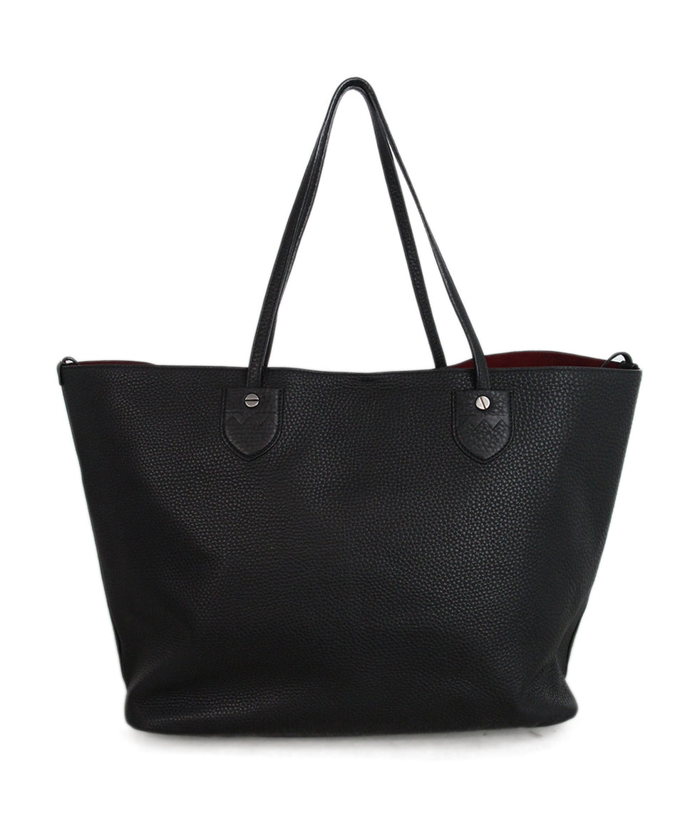 Bally Black Leather Tote 3