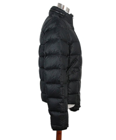 Balmain Black puffer coat 1