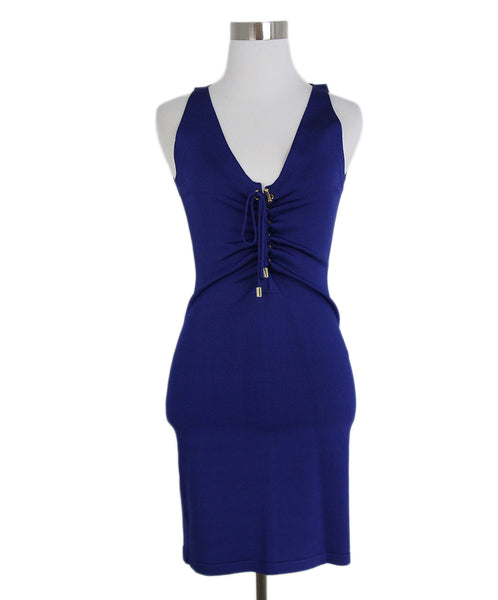 Balmain Blue dress 1