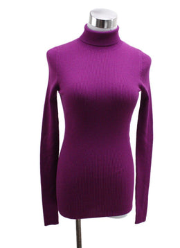 Barbara Bui Purple Wool Sweater