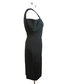 Beckham Black Viscose Polyester Dress 2