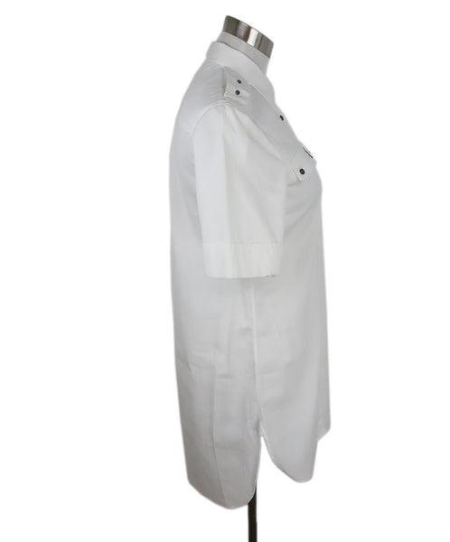 Belstaff White Cotton Tunic Top 2