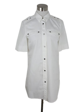 Belstaff White Cotton Tunic Top 1