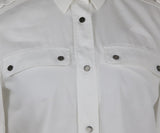 Belstaff White Cotton Tunic Top 5