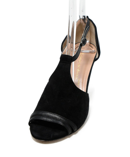 Karine Arabian Black Suede Leather Shoes 1