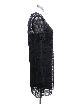 Black Floral Lace W/Slip Dress 1