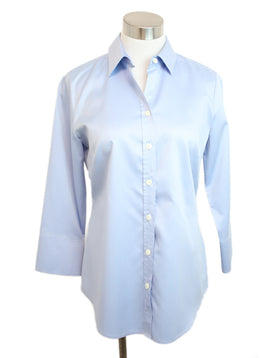 Hinson Wu Blue Cotton Top 1