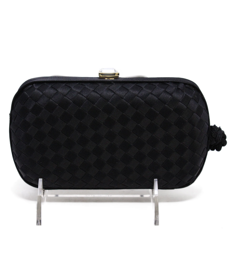 Bottega Veneta Black Clutch 3