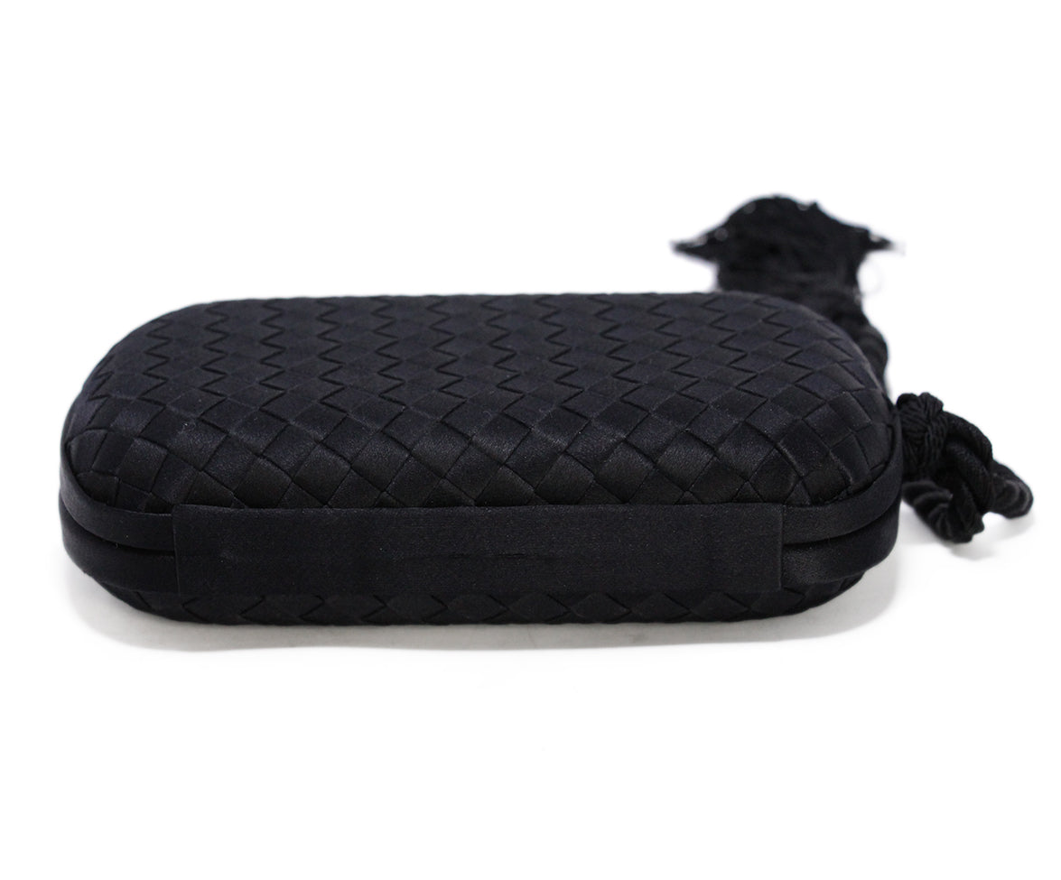 Bottega Veneta Black Clutch 4
