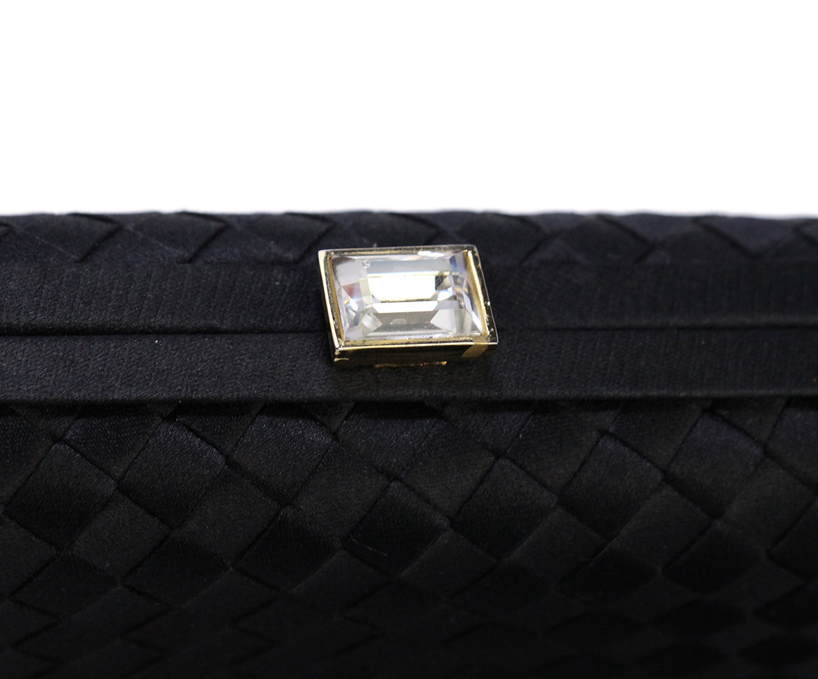 Bottega Veneta Black Clutch 7