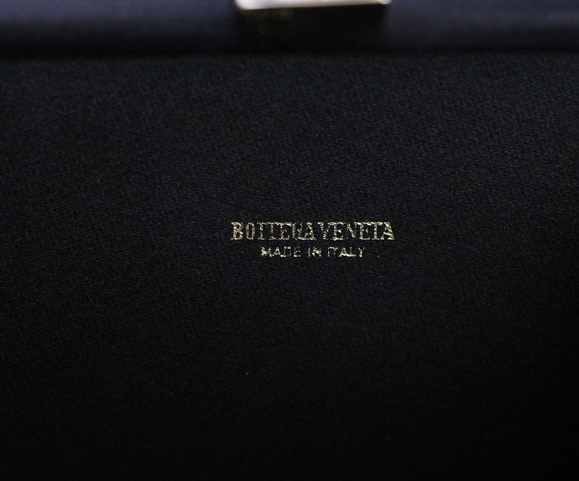 Bottega Veneta Black Clutch 6