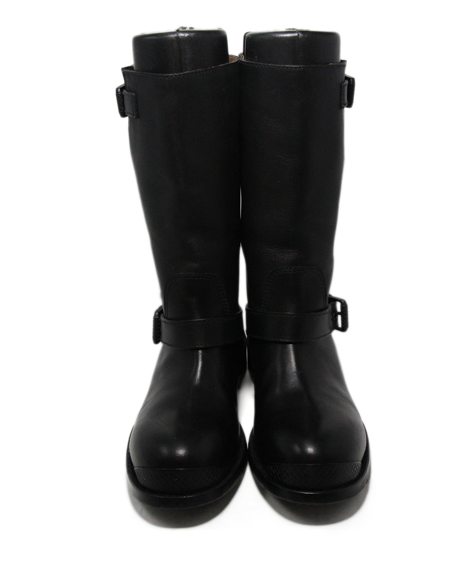 Bottega Veneta Black Leather Boots 4