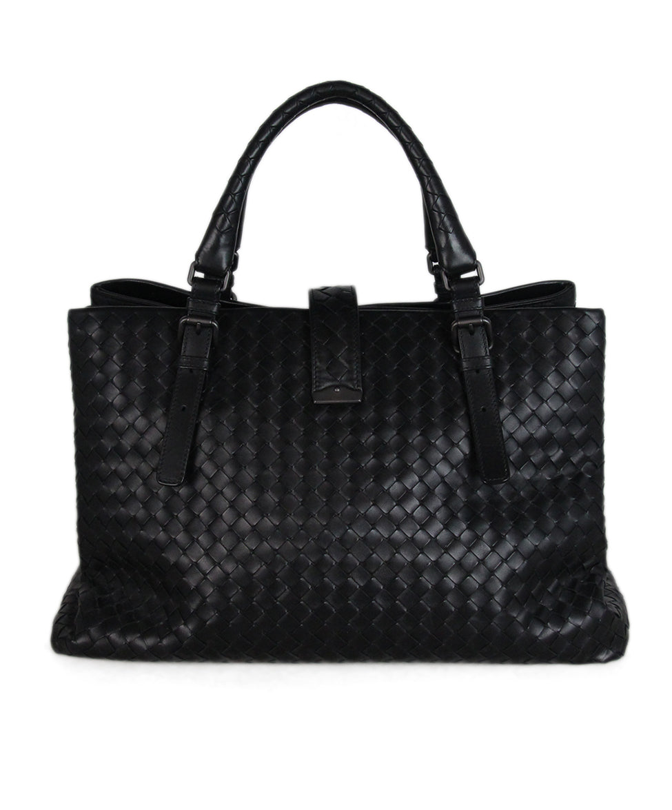 Bottega Veneta Black Woven leather Tote 3