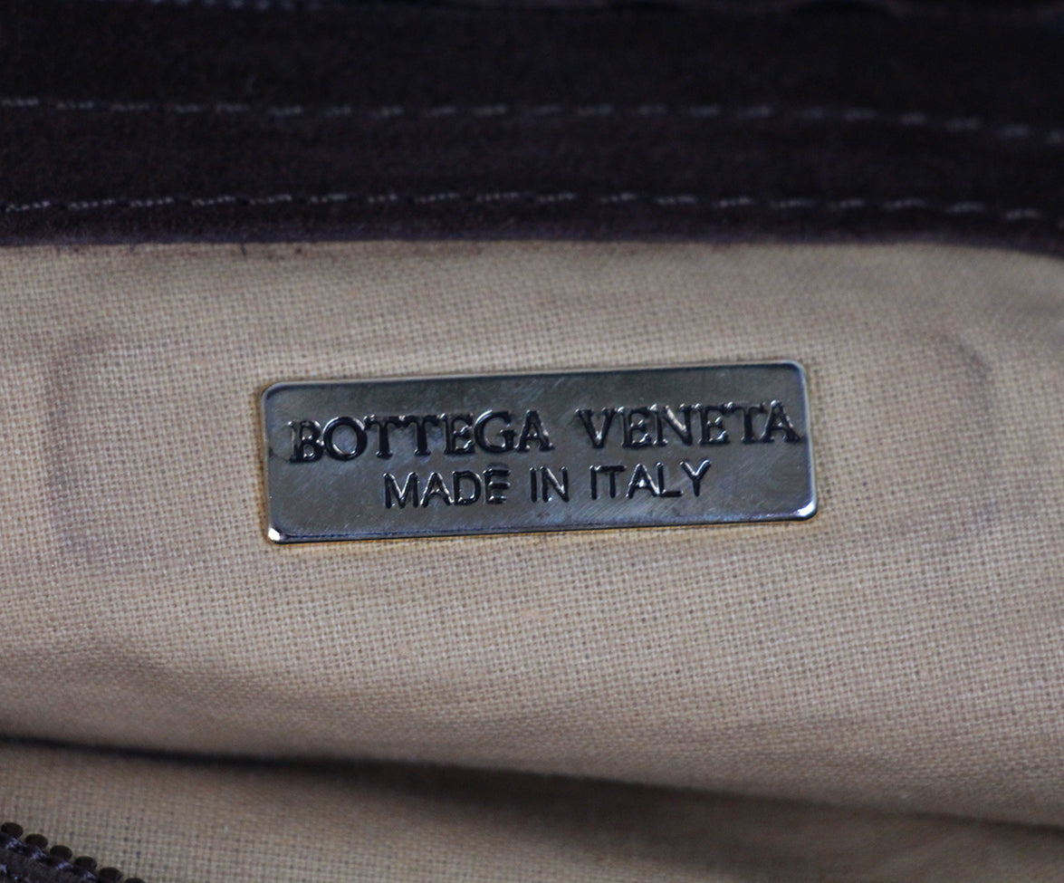 Bottega Veneta Brown Suede Leather Hobo Bag 6
