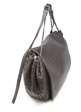 Bottega Veneta Brown Woven Leather Handbag 2