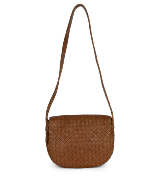 Bottega Veneta Neutral Tan Woven Leather Shoulder Bag Handbag 3