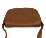 Bottega Veneta Neutral Tan Woven Leather Shoulder Bag Handbag 5