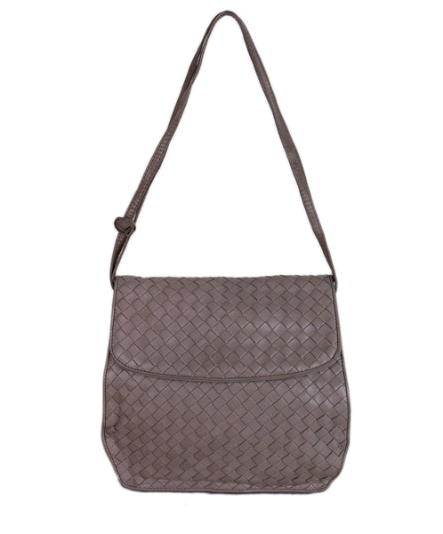 Bottega Veneta Neutral Woven leather Shoulder Bag 1