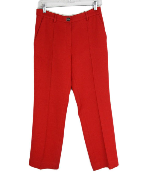 Bottega Veneta Red Pants 1
