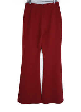 Brandon Maxwell Red Viscose Elastane Pants 2