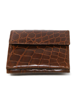 Card Case Brown Light Crocodile Leather Goods 2