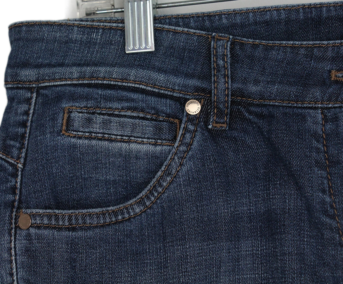 Brunello Cucinelli Blue denim pants 6