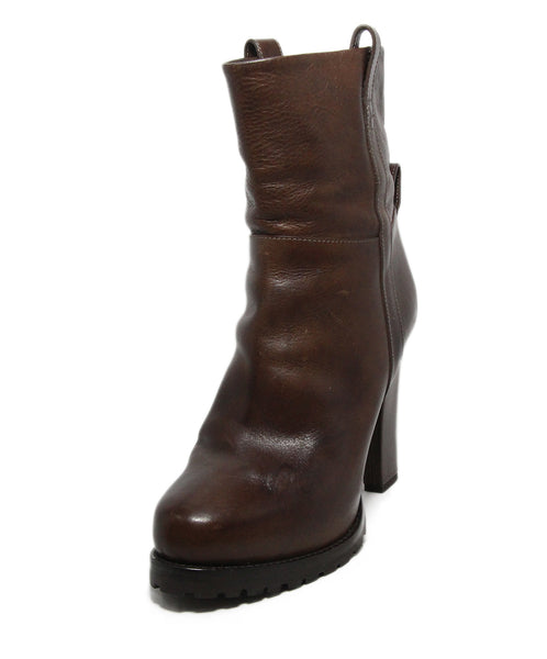 Brunello Cucinelli Brown Leather Boots 1