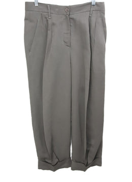 Brunello Cucinelli Brown Linen Pants 1