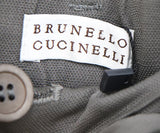 Brunello Cucinelli Brown Linen Pants 3