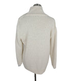 Brunello Cucinelli Cream Cotton Polyamide Sweater 3