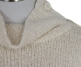 Brunello Cucinelli Cream Cotton Polyamide Sweater 5