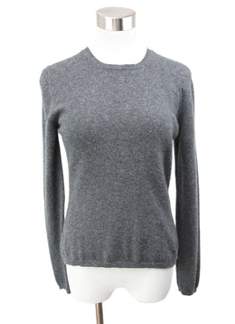 Brunello Cucinelli Grey Cashmere Sweater 1