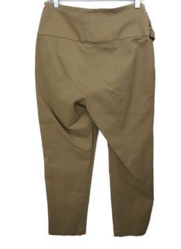 Brunello Cucinelli Khaki Cotton Pants 2