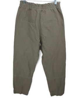 Brunello Cucinelli Neutral Khaki  Cotton Pants 2