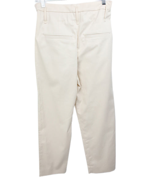 Brunello Cucinelli Neutral Taupe Cotton Pants 2