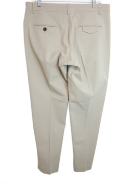 Brunello Cucinelli Beige Cotton Pants 2