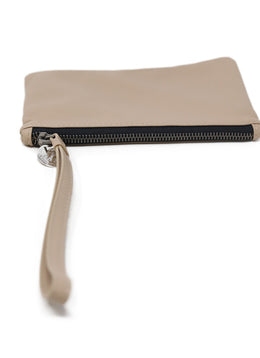 Wristlet Brunello Cucinelli Neutral Tan Leather Leather Goods 1