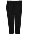 Brunello Cucinelli Black Wool Chain Pants 2