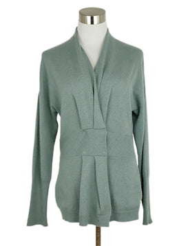 Brunello Cucinelli Mint Cashmere Sweater 1